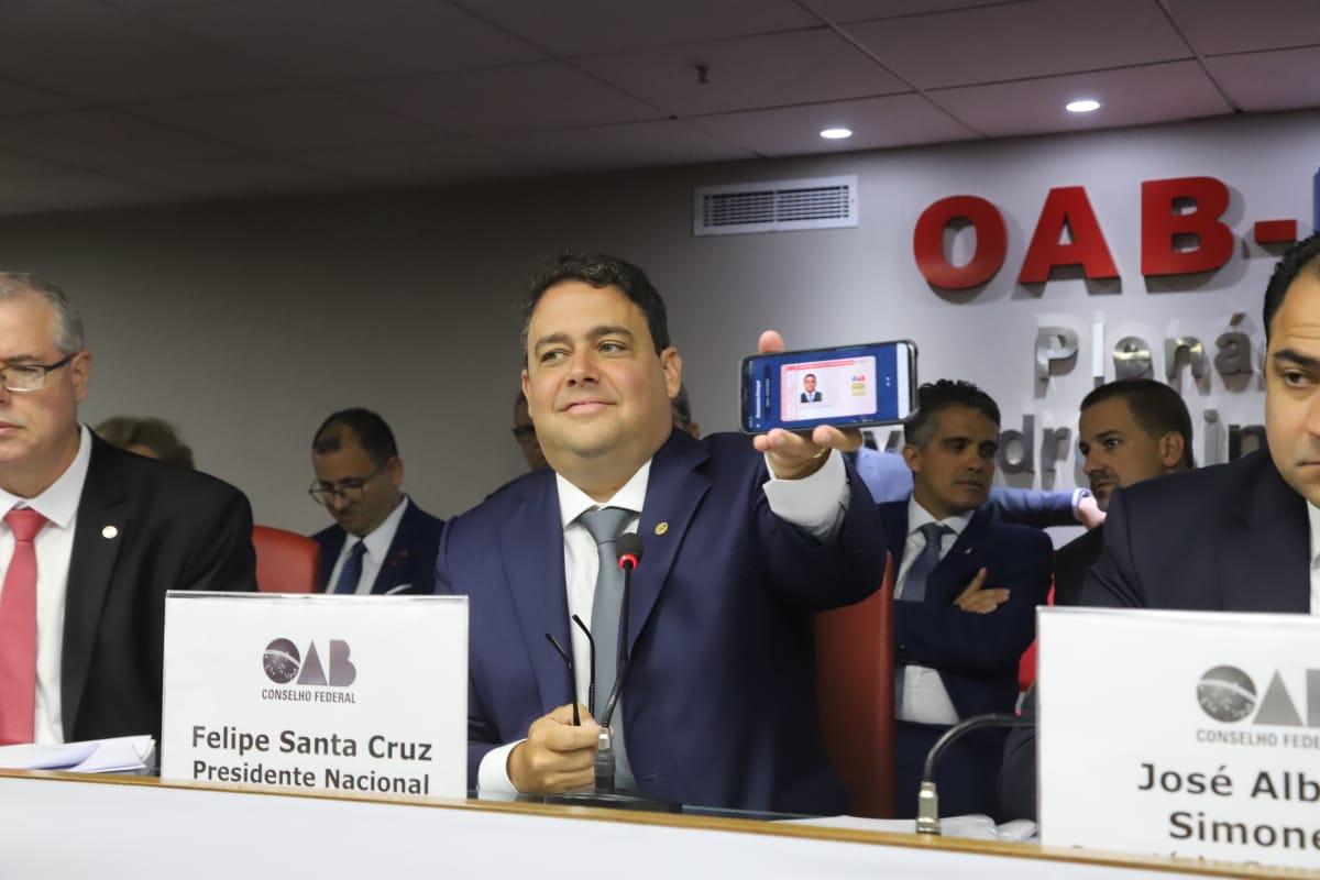 CONSELHO PLENO DA OAB NACIONAL APROVA CRIAÇÃO DA CARTEIRA DIGITAL DA OAB